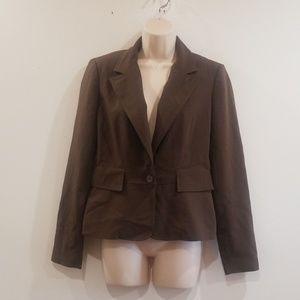 Axcess a Liz Claiborne company stretch blazer